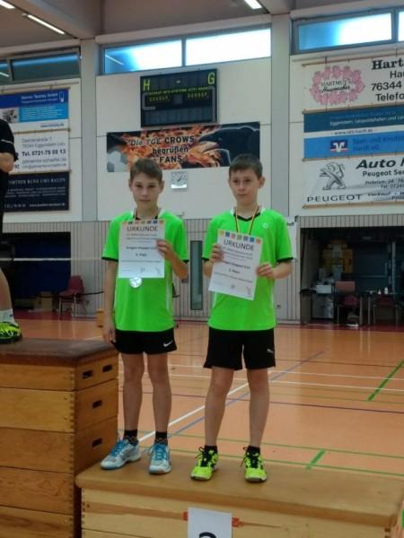Leonard und Alexis_Doppel_Ba.Wü.Meisterschaften 2018-19