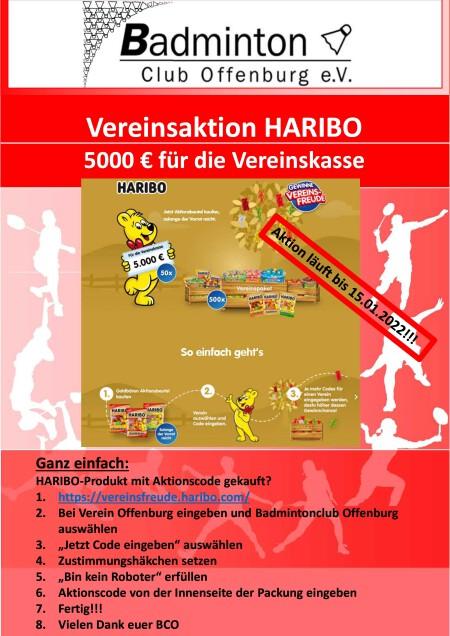 Infoblatt HARIBO-Aktion